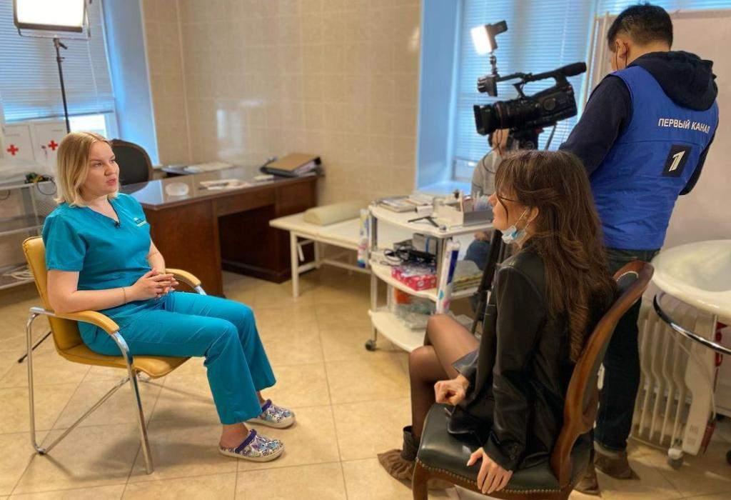Клиника Real Trans Hair на Первом канале ТВ